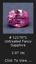 Untreated Fancy Sapphire