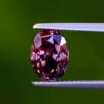 Untreated 'Plumb Red' Sapphire #1136934